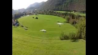 Hang glider training hill
