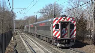 Railfanning Connecticut with Amazing Horn Shows from Amtrak & Shore Line East Trains!