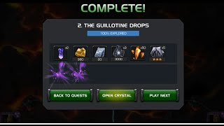 Act 4 Chapter 2 Stage 2: The Guillotine Drops