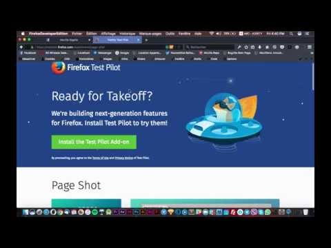 Experiment new features with Firefox Test Pilot