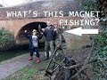 What's this found magnet fishing