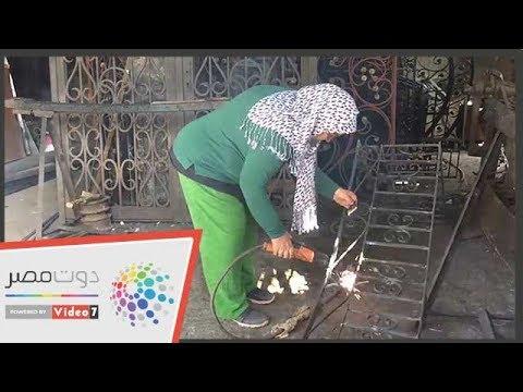 المرأة الحديدية.. نادية أسطى الفورفورجيه في الإسماعيلية