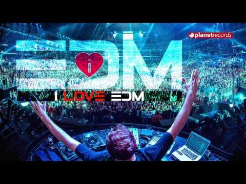 "I LOVE EDM ► 1'21"" hr NON STOP HIT MIX ► BEST OF DANCE EDM, HOUSE, TECH HOUSE, DUB STEP"