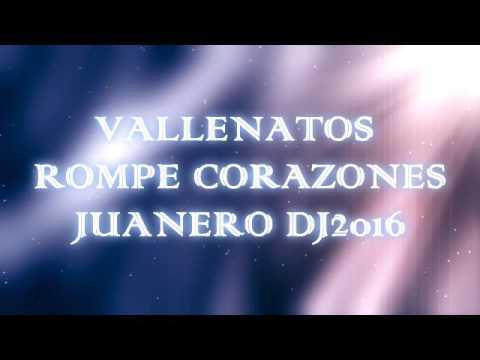 VALLENATOS A PURO DOLOR JUANERO DJ 2016