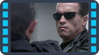 Т-800 против Т-1000. Культовое противостояние — «Терминатор 2: Судный день» (1991) сцена 3/10 QFHD