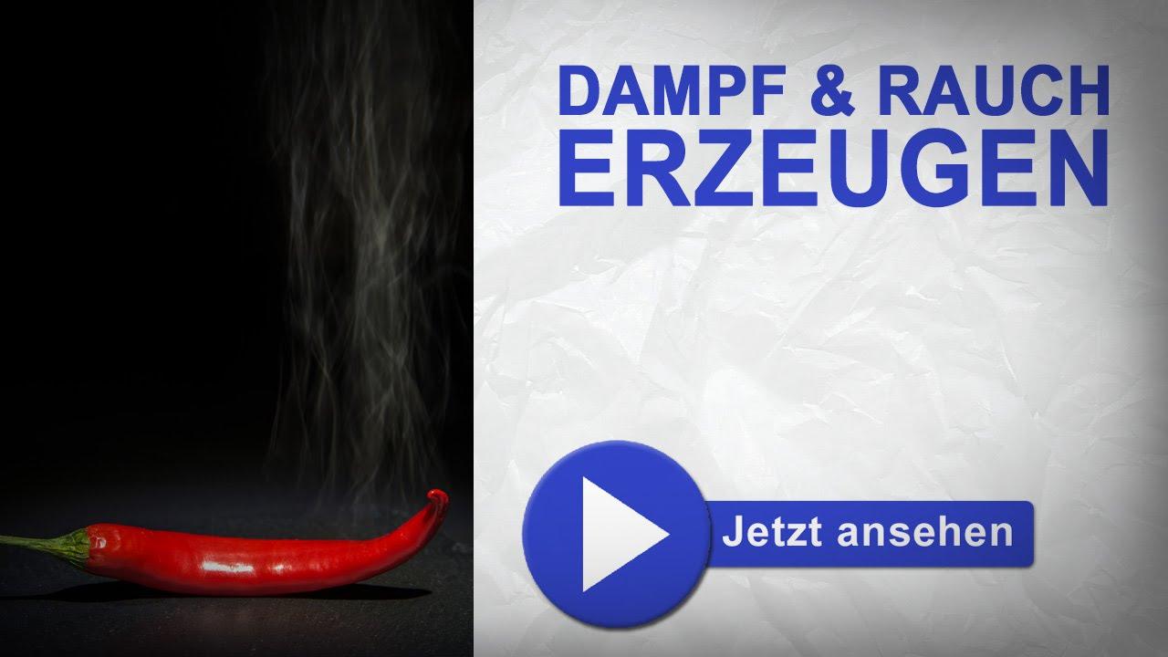 Dampf und Rauch erzeugen - Trickshot - YouTube