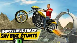 Sky Bike Stunts 3D  Overview Android GamePlayHD