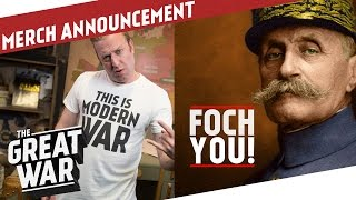 Merch is Here! - Indy and Flo introduce Our Brand New Merchandise I THE GREAT WAR - Announcement