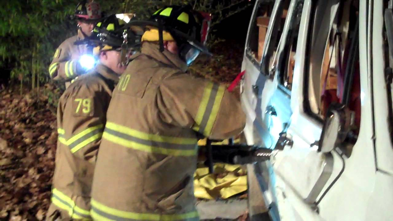 Highland Park Fire Department Holmatro Hydraulic Rescue Tool
