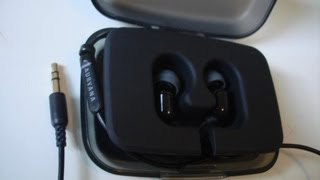 Creative Zen Aurvana (Aurvana In-ear) unboxing with macro views