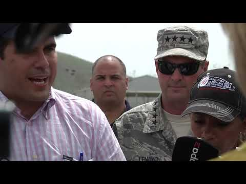 Chief of the National Guard Bureau visits Puerto Rico