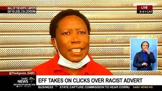 EFF vs Clicks | EFF leader Julius Malema at Clicks Mall of the North