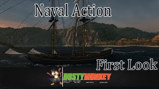Naval Action | First look at Open World MMO Sailing game(I take a look at the new MMO Open World game Naval Action and some of it's features from combat to trading and what I feel it is lacking!, 2016-01-26T21:23:51.000Z)