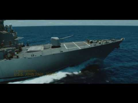 "Battleship Movie ""RIMPAC Exercises scene"" HD"