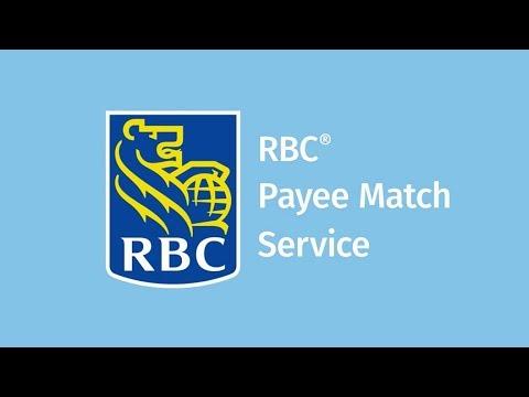 RBC Payee Match Service