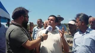 Taş ocağı istemeyen doğa dostu Sedat Ergan