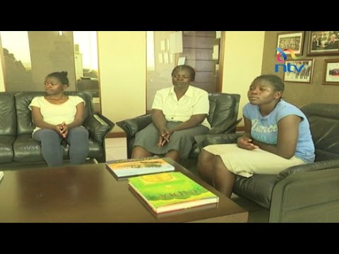 Straight A student Juliet Akinyi from Kiandutu secures a scholarship  - #KCSE2016