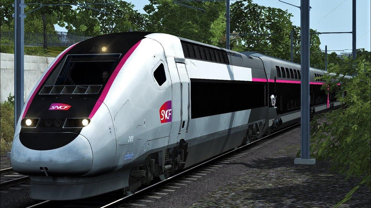 Trem de Aix a Paris