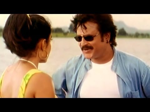 Narasimha Movie || Ramya Krishna Dailogues Expressing Love to Rajanikanth