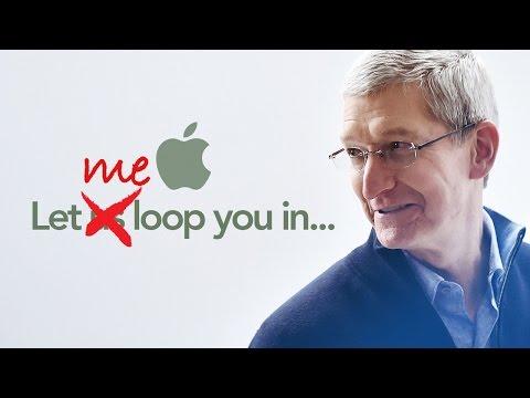 Секретный месседж в Apple keynote 2016.