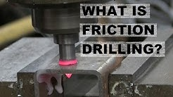 Using Friction to Melt Holes in Steel. AKA Flow Drill