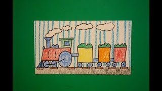 Let's Draw a Train!