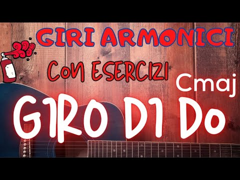 C Major Chord - Giro di Do - con Esercizi Ritmici