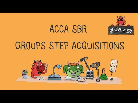 ACCA SBR Consolidation Step Acquisition: Exam style Example 1 (Video 2)
