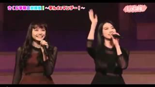 Ayaka & Airi On Sakura Gakuin 5 Anniversary