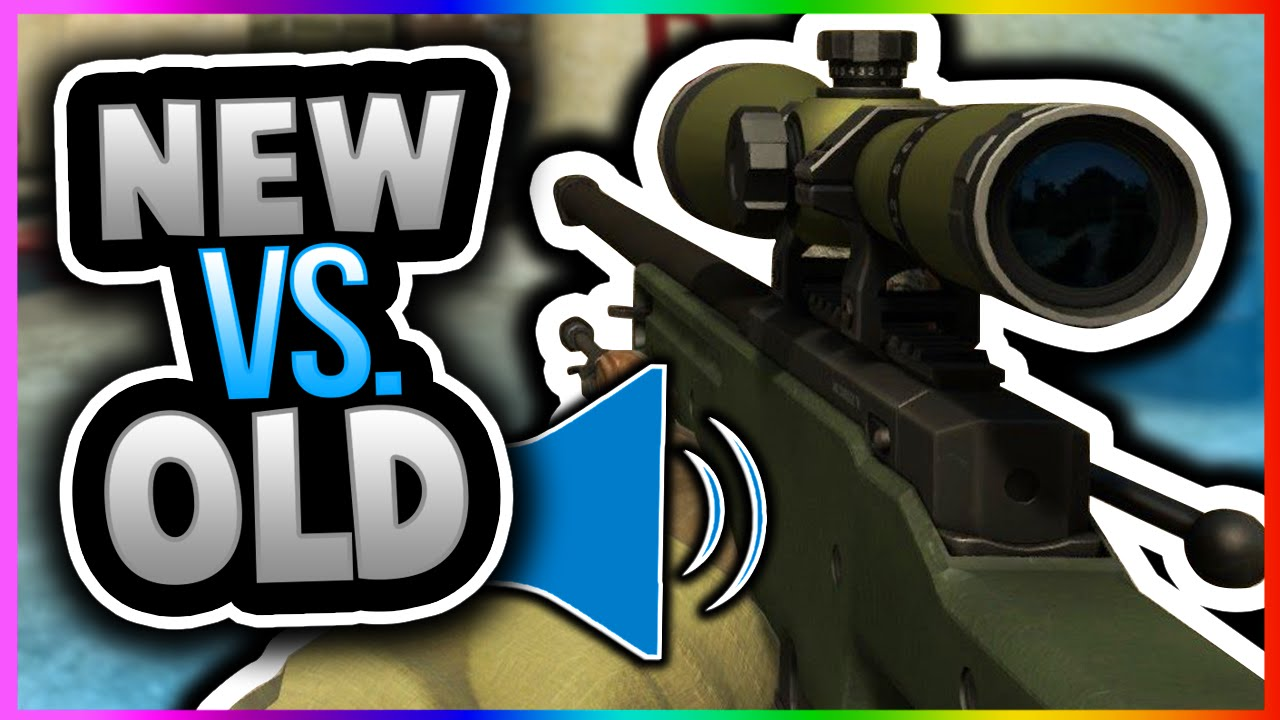CSGO - SOUND UPDATE! BEFORE AND AFTER SOUNDS AWP SSG 08 SCOUT SCAR 20 (CS GO New Sounds Gameplay)