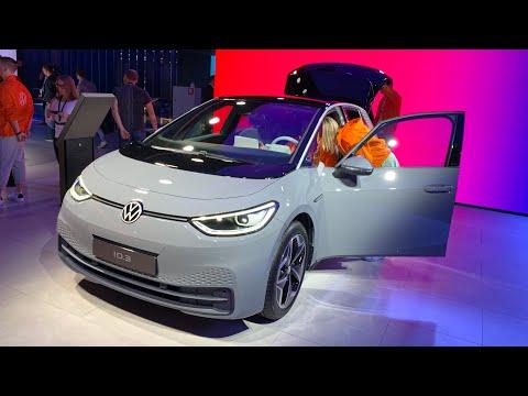 Volkswagen ID.3 WORLD PREMIERE first look (exterior, interior) Frankfurt Motor Show 2019