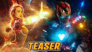 AVENGERS 4 TRAILER - ¿Cuando sale el Trailer de Vengadores 4?