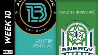 Austin Bold FC vs OKC Energy FC: May 10th, 2019
