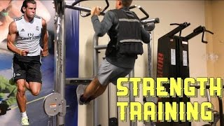 How a Pro Footballer/Soccer Player Builds Strength