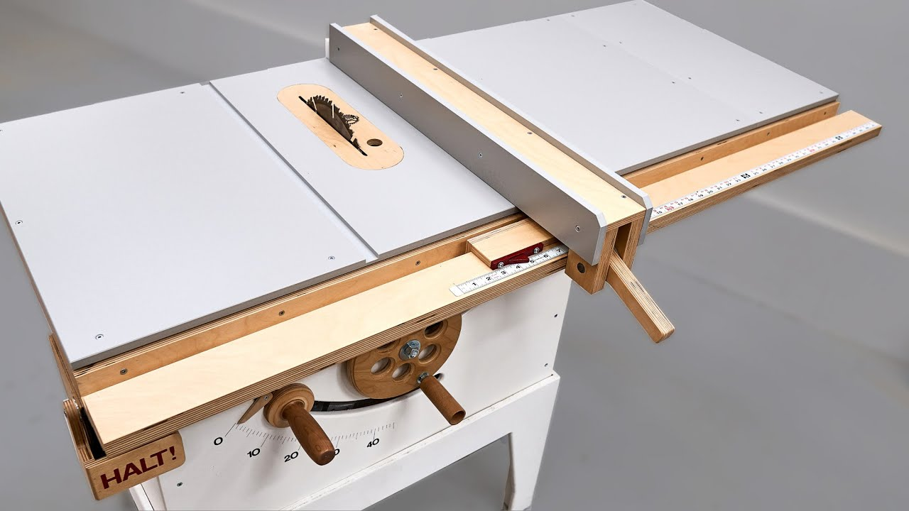 making the ultimate diy table saw fence