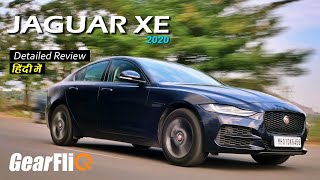 Jaguar XE 2020 (Petrol) - Detailed Review | Hindi | GearFliQ