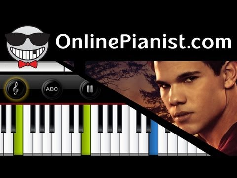 Howard Shore - Jacob's Theme [The Twilight Saga: Eclipse] - Piano Tutorial