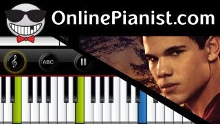 howard shore jacobs theme the twilight saga eclipse piano tutorial