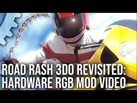 DF Retro Play: Road Rash 3DO vs Blackdog Technology 3DO RGB Mod!