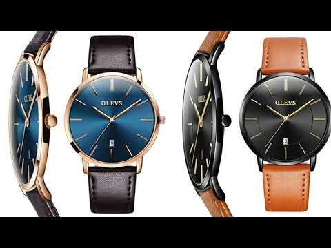 Olevs Thin Mens Watches | Classic Wrist Warch | Business Watch