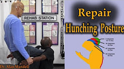 Repair Hunching Posture With This Great Exercise (Neck, Headaches, Back Pain) - Dr Mandell
