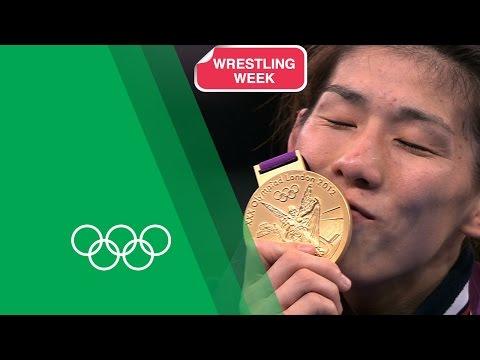 3 Time Olympic Wrestling Champion Saori Yoshida on her London 2012 Gold | Olympic Rewind