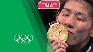 Olympics: 3 Time Olympic Wrestling Champion Saori Yoshida on her London 2012 Gold | Olympic Rewind