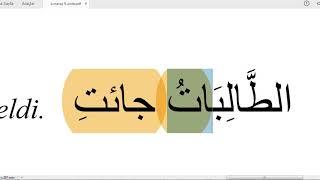 K.Maraş #İLİTAM #Arapça 1 / 9.Ünite /