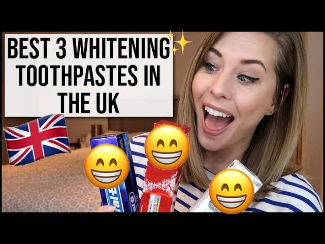 Best 3 Whitening Toothpastes In The Uk Xameliax Youtube