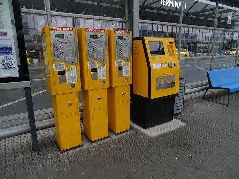 Как купить билеты на трамвай в праге