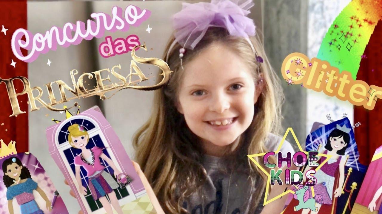 CONCURSO DAS PRINCESAS GLITTER /PRINCESS COMPETITION |Concours de paillettes princesse