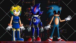 Полное прохождение игры: Sonic.exe:The Tower of millennium (Смотреть с 26:20)