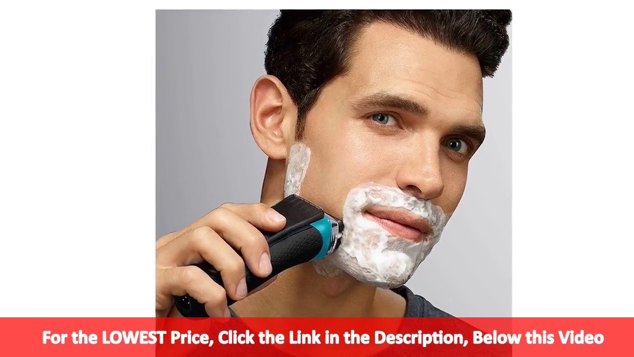 Braun Series 3 ProSkin 3080s Wet and Dry Electric Foil Shaver for Men Rechargeable  Electric. 08ed27f11d16