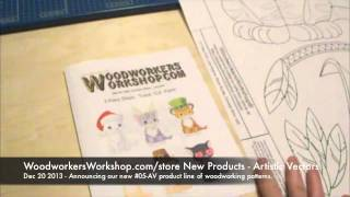 Artistic Vectors - New Woodworking Patterns Product Line